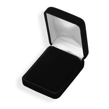 Black Velvet Earring/Pendant Box