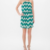 As U Wish Chevron Necklace Dress