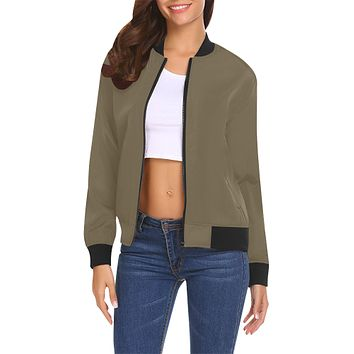 Fall Ready Women's Bomber Jacket
