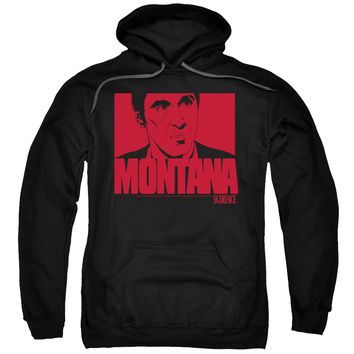 Scarface - Montana Face Adult Pull Over Hoodie