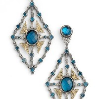 Konstantino 'Thalassa' Blue Topaz Kite Chandelier Earrings | Nordstrom
