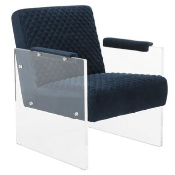 Malena Acrylic Arm Chair