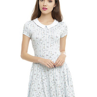 Disney Alice In Wonderland Collar Dress