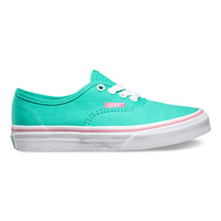 Kids Iridescent Eyelets Authentic | Shop Girls Shoes at Vans