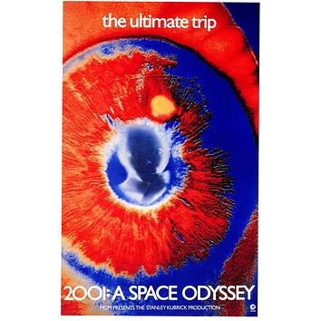 2001: A Space Odyssey 11x17 Movie Poster (1968)
