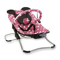 Disney Baby Minnie Mouse Snug Fit Folding Bouncer - Polka Dots - Baby - Baby Gear - Swings & Bouncers
