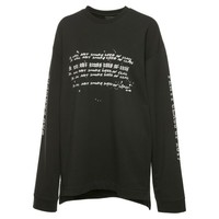 FENTY Unisex Longsleeve Graphic Crew Neck Shirt | Cotton Black | PUMA Fenty Puma By Rihanna | PUMA United States