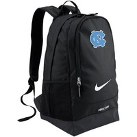 Nike North Carolina Tar Heels (UNC) Large Training Backpack - Black