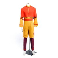 Anime Avatar The Last Airbender Bumi Avatar Aang Cosplay Costume Custom Made Any Size
