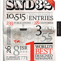 The Best of News Design 32nd Edition | Design / Graphic Arts / Commercial Design Book | Qbookshop