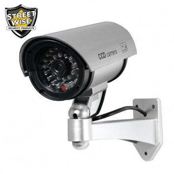 5 Inch IR Dummy Camera Black or Silver