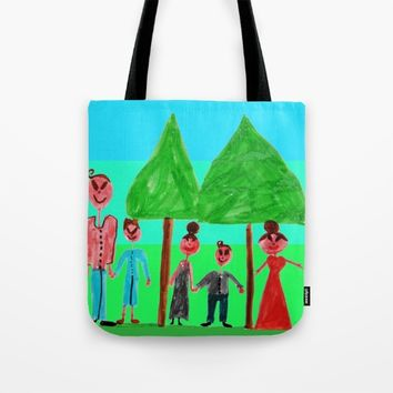 family Tote Bag by Azima