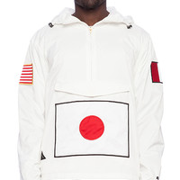 10 Deep Flags Pullover in White