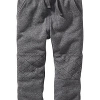 Old Navy Quilted Knee Slouchy Fleece Pant For Baby