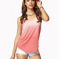 Ombré Striped Tank