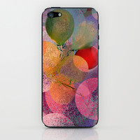 BALLOON LOVE  - Wish to be Happy iPhone & iPod Skin by Marianna Tankelevich
