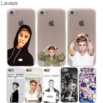 Lavaza JUSTIN BIEBER Sorry Love Yourself Cover Case for iPhone X 10 8 7 Plus 6 6S Plus 5 5S SE 5C 4 4S Cases