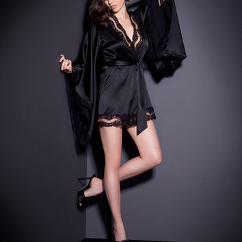 View All Nightwear by Agent Provocateur - Luna Kimono