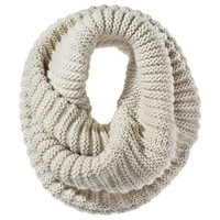 Mossimo® Twisted Neck Snood Scarf - Ivory