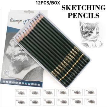 Sketching Pencils (12 Pack)