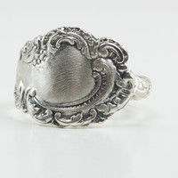 Spoon Ring Sterling Silver Spoon Ring