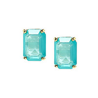 kate spade new york Emerald Cut Stud Earrings