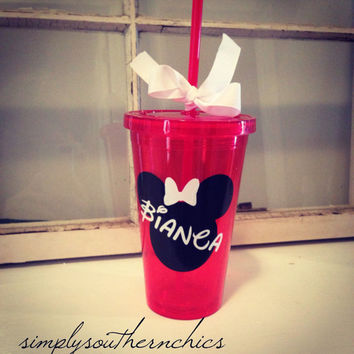 Disney Tumbler - Mickey or Minnie Mouse