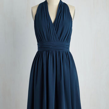 Set in Your Sways Dress in Dusk | Mod Retro Vintage Dresses | ModCloth.com
