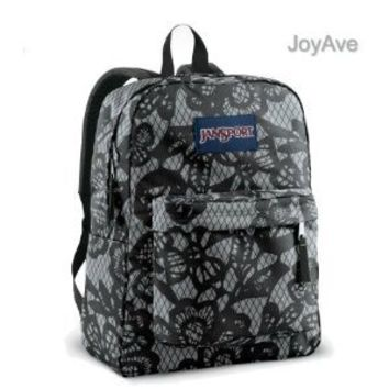 JanSport Superbreak Backpack (New Storm Grey/Black Lacis)