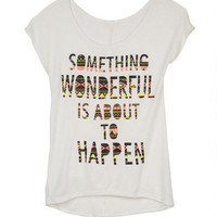 Something Wonderful Tee
