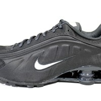 Nike Men's Shox R4 Black/Anthracite Running Shoes 104265 039