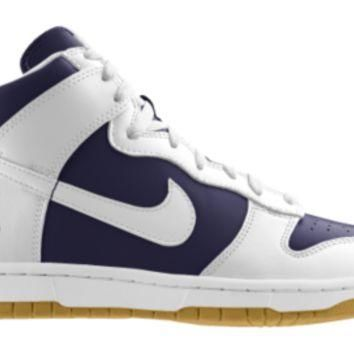 Nike Dunk High Nfl St Louis Rams Id Custom Kids Shoes White