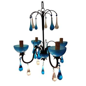 Pre-owned Anthropologie Venetian Chandelier - Brand New