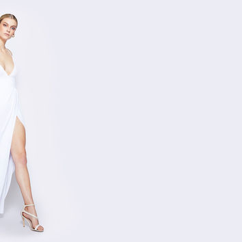 White Mirabella Dress | Fame & Partners USA