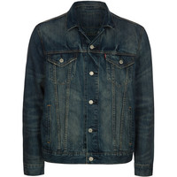 Levi's Mens Denim Trucker Jacket Medium Blast  In Sizes