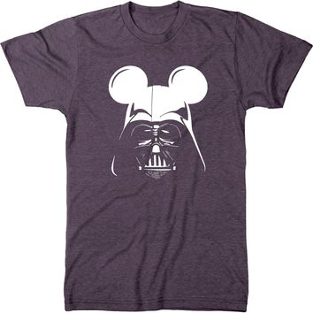 Darth Vader Mouse Ears Mens Modern Fit Tri-blend T-Shirt