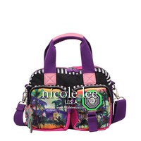 W.R. CRINKLE NYLON PRINT HANDBAG WITH MULTI-FUNCTION - NEW ARRIVALS
