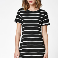 LA Hearts Stripe Short Sleeve T-Shirt Dress at PacSun.com