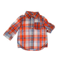 First Impressions Baby Boys Glen Plaid Infant boys Button-Down Shirt