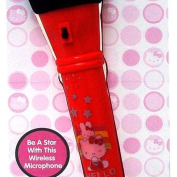 Hello Kitty Wireless Microphone - CASE OF 6