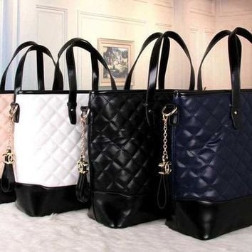 VONE05 CHANEL Women Fashion Shopping Leather Satchel Shoulder Bag Handbag Crossbody