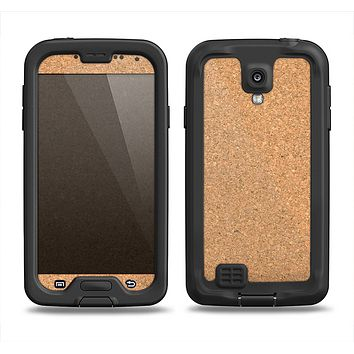 The CorkBoard Samsung Galaxy S4 LifeProof Fre Case Skin Set