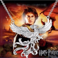 Harry Potter Horcrux Phoenix Necklace