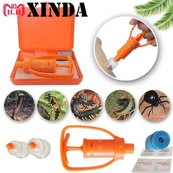 Venom Extractor Pump First Aid Safety Tool Kit Emergency Snake Bite Survival SOS GUK2101