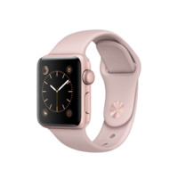 Apple Watch - Rose Gold Aluminium Case with Pink Sand Sport Band