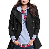 Double-breasted Military Coat - Victoria's Secret