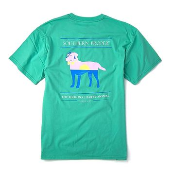 Sunset Party Animal Tee in Old Florida by Southern Proper