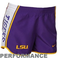 Nike LSU Tigers Ladies Purple Pacer Performance Shorts