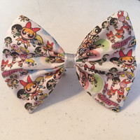 Sugar and Spice and Everything Nice Fabric Bow