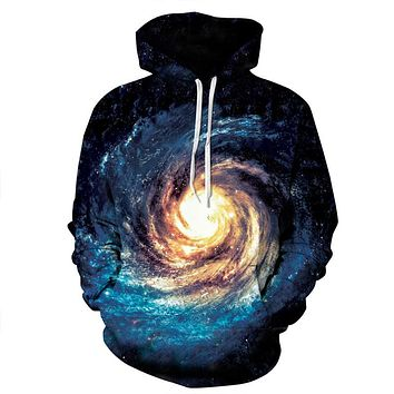 Eye Of The Galaxy Trippy Hoodie